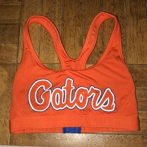 Florida gator sports bra